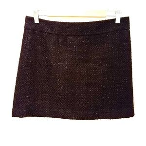 Forever 21 black sparkle tweed pencil skirt
